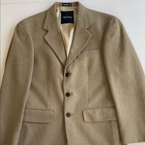 Vintage Nautica silk blazer